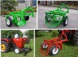 小さいトラクターによって運転されるサツマイモプランター種取り機