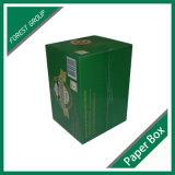 Коробка горячего вина сбывания бумажная с рассекателем