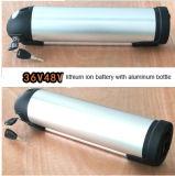батарея блока батарей LiFePO4 лития 36V 11ah 18650 с алюминиевой бутылкой для батареи E-Bike