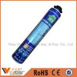 Mousse à pulvérisation en polyuréthane à haute densité 750 ml pour la construction