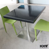 Modern Artificial Stone Fast Food Restaurant Meubles Tables et chaises
