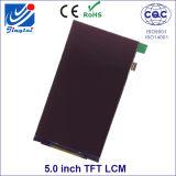 5.0inch visualización del Tn TFT LCD de las 12