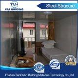 Casas prefabricadas de acero del calibrador ligero para el hotel de centro turístico