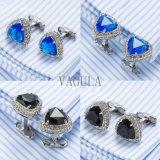 Соединения тумака 502 Zircon Gemelos подарка законоведа Cufflinks рубашки кристаллический людей VAGULA французские