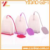 Kundenspezifischer Silikon-Erdbeere-Form-/Blumen-Form-Teebeutel
