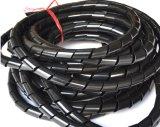Kabel-Draht-saubere Verpackungs-gewundenes einwickelnband-Organisator-Schwarzes 12mm