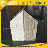木製の穀物が付いている家具のためのアルミニウム放出のプロフィール