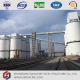 化学工業のためのプレハブのコンベヤーの鉄骨構造