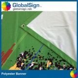 220g 폴리에스테 직물 기치 전시를 광고하는 중국 공장 최고 가격