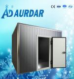 Cámara fría del almacenaje de los pescados para la venta