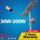 lampada di via solare esterna di 6000k Epistar Bridgelux LED
