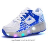 Flügel des Lichtes bereift USB-Schuhe/mehr Farben-Schuhe/leuchtende Schuhe LED mit hellen Schuhen