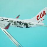 Modello dell'aeroplano del metallo della Cina United Airlines B737-800
