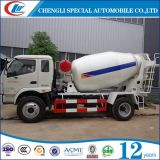 4cbm 5cbm 6 Wheels Concrete Truck Mixer