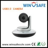 Câmera de rastreamento automatizada HD Câmera de conferência de vídeo PTZ de zoom panorâmico automático