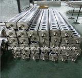 Colector solar evacuado presión del tubo del acero inoxidable no