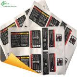 Etiquetas engomadas de encargo (KG-PT018)