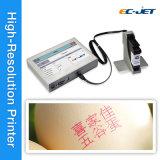 Imprimante à jet d'encre continue d'imprimante de code barres pour le cadre de papier (ECH700)