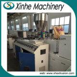 Pipes en plastique de machine en plastique d'extrudeuse de grande quantité faisant la ligne de production à la machine