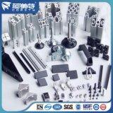 RoHS anodisierte natürliche silberne Aluminiumstandardprofile für Montage