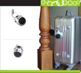 내각을%s 휴대용 Retractable& Resetable 조합 케이블 자물쇠