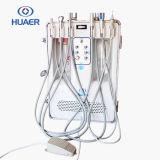 Unidad dental portable móvil del Ce del TUV con el compresor de aire de Oilless