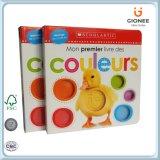 Libro del rompecabezas de Casebound para que niños de Prechool digan colores