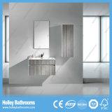 Mobilia fissata al muro moderna della stanza da bagno della qualità superiore con il Governo laterale