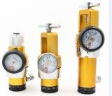 Régulateurs de l'oxygène, faisceau en laiton, 0-25lpm, sortie de Diss, droite