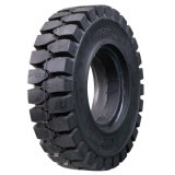 고품질 제동자 타이어 15X4.50-8 의 중국 고체는 Linde 포크리프트를 위한 타이어를 쉽 적합했다