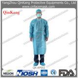 Vestido quirúrgico no tejido disponible del suministro médico