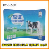 3*3m рециркулируют изогнутую стойку выставки ткани напряжения (DY-C-8)