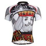Король Ceaser Cycling Рубашка для напольных спортов замыкает накоротко втулку Джерси