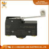 Commutateur micro Lz15-Gw2-B de levier de rouleau en plastique de charnière de Lema