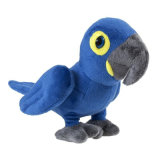 앵무새 새 연약한 장난감 견면 벨벳 꼭 껴안고 싶은 박제 동물 새 장난감