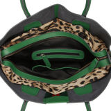 Al8972. A forma das bolsas do desenhador do saco das senhoras das bolsas do saco de couro da vaca do vintage da bolsa do saco de ombro ensaca o saco das mulheres