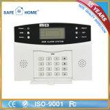 GSM panel de control de alarma 315 / 433MHz 99 zonas sin hilos LCD de alta calidad