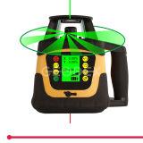 آليّة [سلف-لفلّينغ] يدور ليزر مستوى مع [لكد] عرض ([400هف] أحمر/[400هفغ] اللون الأخضر)