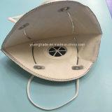 Respirador disponible plegable del polvo N95 con la válvula activa del carbón