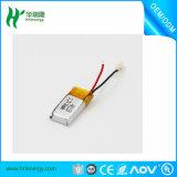 bateria recarregável do Li-íon de Lipo do polímero de Li do lítio de 3.7V 40mAh 401215 para o auscultadores dos auriculares de Bluetooth