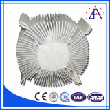 Flor solar Raditors de alumínio/dissipador de calor de alumínio