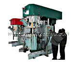 Se dobla el mezclador de Dissolver del mecanismo impulsor