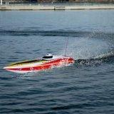 barco eléctrico de alta velocidad de la fibra de vidrio RC del barco 1300bp 60km-H de la llama que compite con 225bl057ap-Original con el transmisor de Fs-Gt2 2.4G