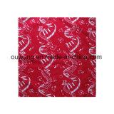 Горячей шарф шеи головки квадрата хлопка сбывания напечатанный таможней дешевый