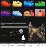 Waterproof Christmas Holiday Outdoor Party Waterfall Curtain Strip LED Light