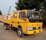 Dongfengの販売のための5tダンプトラックへの熱い販売のダンプカー4X2の二重タクシー3t