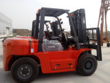 Diesel van China 8ton Vorkheftruck met Hydraulische Transmissie en Chinese Motor Xichai6110, Ingenieur Beschikbaar aan de Dienst overzee