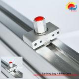 Douane Ontworpen Aluminium Geanodiseerd Zonne het Opzetten 6005-T5 Spoor (XL022)