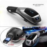 Récepteur coulant aux. de véhicule de l'adaptateur X5 Bluetooth de véhicule de carte de FT