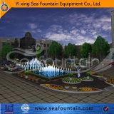Fontaine changeable décorative de musique d'éclairage LED